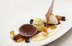 Chocolate Tart Recipe With Banana Ice Cream - Great British Chefs