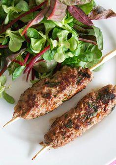 Comfort Bites Blog: Lamb, Red Onion and Herb Koftas (AIP)