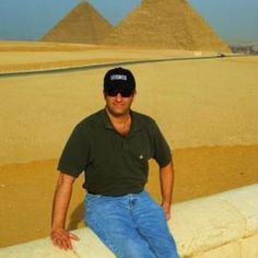 Hanging out at the Great Pyramids in Cairo Egypt. It was Wicked