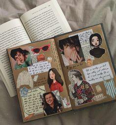 Bullet Journal Flip Through, Bullet Journal Notes, Bullet Journal School, Bullet Journal Ideas Pages, Bullet Journal Inspiration, Art Journal Pages, Music Journal, Scrapbook Journal, Arte Gcse