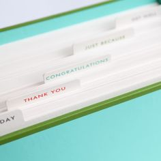 Kate Spade New York | All occasion notecard set | lined envelopes| Quill London stationery at Quill London