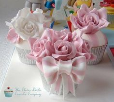 Beautiful cup cakes!