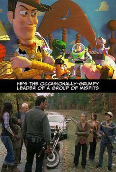 'The Walking Dead' vs. 'Toy Story'