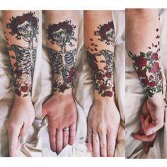 51-grateful dead tattoos