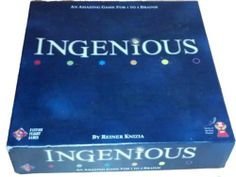 Ingenious Board Game For 1 to 4 Brains by Reiner Knizia Game of the Year 2004