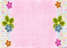 Fondos para Blog Isabella: Cabecera y Fondo Flores Chica