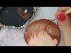 Baby Painting, Tole Painting, Fabric Painting, Doll Eyes, Doll Face, Baby Boy Cookies, Painting Videos, Patch Quilt, Calligraphy Art