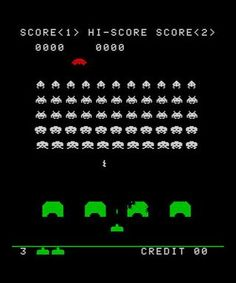 The original Space Invaders arcade game was released in Japan 35 years ago today. Space Invaders, Pinball, No Time For Me, All About Time, Karate Kid, Nostalgia, Retro Video Games, Retro Games, School Videos