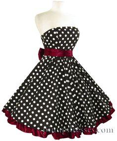 50's style polka dot dress by Gmomma