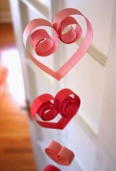 Manualidades para San Valentin - Bonitos corazones para decorar   Un Mundo de Manualidades