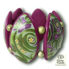 Another polymer clay creation from the French website I found.