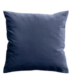 Charcoal gray. Cushion cover in cotton velvet with concealed zip. dark blue velvet 7.99 20x20