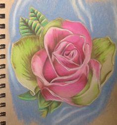 Candy rose. Tattoo idea