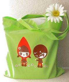 red riding hood tote.  so cute!