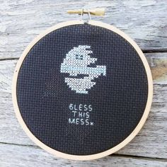 """Star Wars inspired """"Bless This Mess"""""""