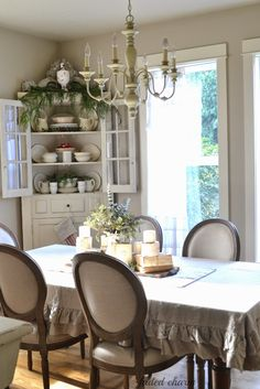 Faded Charm: ~Festive Touches~ TABLECLOTH