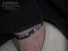 bracelet homme perles de la marque CASTELD