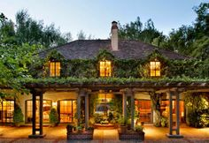 """Half Pudding Half Sauce: """"Danvers House"""" - The Finest Tudor House in America  this was the carriage house;  divine pergola!"""