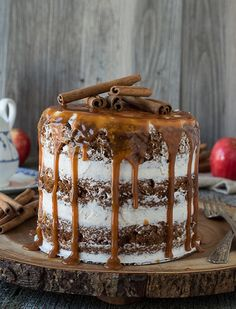 Ditch the Copious Frosting with These 11 Gorgeous Naked Cakes via @PureWow