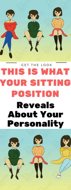 This Is What Your Sitting Position Reveals About Your Personality! Read this..!!