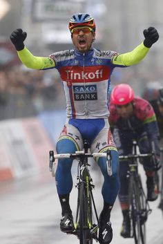 Peter Sagan (Tinkoff-Saxo) wins stage 6 of Tirreno-Adriatico (Tim de Waele/TDWSport.com)