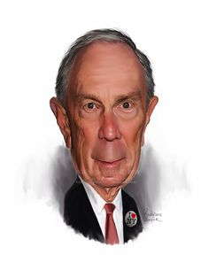 Michael Bloomberg Michael Rubens Bloomberg is an American business magnate, politician and philanthropist. He is the 108th and current Mayor of New York City, having served three consecutive terms since his first election in 2001 Sawyer Illustration Inc. caricature and cartoon art studio