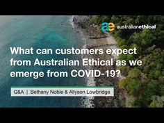 We chat with our Chief Customer Officer Allyson about how we can build back better through ethical investing.