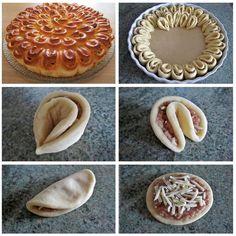 """Мясной праздничный пирог """"Хризантема"""""""