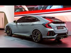 Every 2017 Honda Civic Hatchback sports a large hatch partment