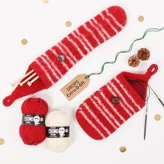 How to work a jumper top down - DROPS Lessons / Knitting lessons Knitting Patterns Free, Free Knitting, Free Crochet, Free Pattern, Crochet Patterns, Drops Design, Crochet Christmas Hats, Crochet Summer Hats, Crochet Boots