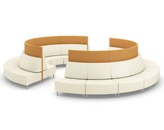 Gee's outer curves expand the possibilities for public seating configurations