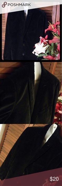 Adolfo Mens dress jacket Size 42 R Suede material. All black. Like new!! Adolfo Jackets & Coats Lightweight & Shirt Jackets