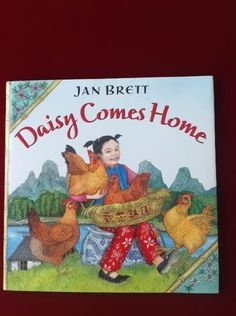 Daisy Comes Home, Jan Brett (2002, Hardcover), Like New, China, Chinese Tale