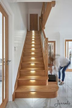 Discount Carpet Runners By The Foot House Staircase, Loft Stairs, Staircase Railings, Staircases, Railing Design, Staircase Design, Stairs Landing Design, Small Space Interior Design, Interior Design Living Room