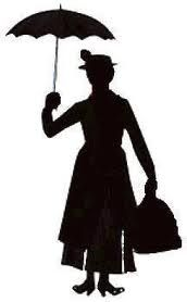mary poppins silhouette - Google Search