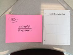 """All Things Algebra: I """"Heart"""" Scavenger Hunts!  Laws of exponents....method explained for the """"hunt"""""""