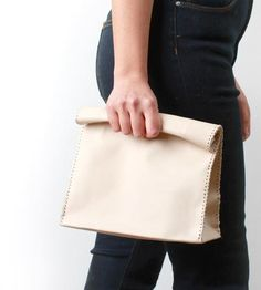 Leather Lunch Bag by Love Dart on Scoutmob Shoppe