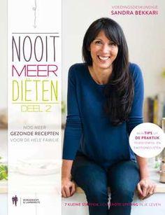 Nooit Meer Diëten 2-Sandra Bekkari-boek cover voorzijde