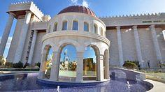 Cúpula do jardim do Templo de Salomão, SP, Brasil, inaugurado em 31 de julho de 2014, o templo é a sede da Igreja Universal do Reino de Deus fundada por Edir Macedo em 9 de Julho de 1977.