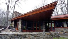 The Reisley house, by Frank Lloyd Wright.