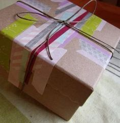 My Washi Tape: WRAPPING