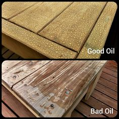 Not all exterior oils are created equal. There are good & bad ones. We use New Zealand made products for New Zealand conditions. If the rain beads then water isn't soaking in, prolonging the life of your furniture. Best Oils, New Zealand, Conditioner, Rain, Exterior, Good Things, Outdoor Furniture, Beads, Create