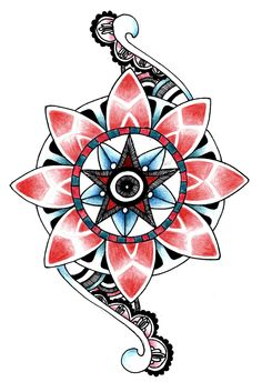 unalome tattoo mandala - Google zoeken