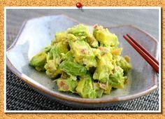 アボカドは何に合わせても美味しいんです!わさび醤油で食べるのはもう飽きたという人に今回は、アボカドを使った美味しいおつまみをご紹介します♪ Avocado Recipes, Japanese Food, Lettuce, Guacamole, Cabbage, Food And Drink, Appetizers, Mexican, Vegetables