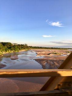 Río Pirai - Puente de la amistad. SC- Bolivia