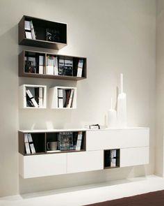 Tv Möbel Weiß Hochglanz Hängend, Sideboard lowboard hängend auf moderne wohnwände