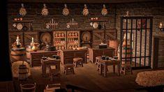 Pub Design, House Design, Pirate Island, Animal Crossing Game, Animal Games, Island Design, Home Room Design, Decoration, Pints