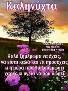 Good Night, Good Morning, Greek Quotes, Spirituality, Elegant, Gifts, Decor, Ideas, Have A Good Night
