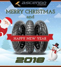 We wish you a Merry Christmas & Happy New Year 2018 #christmas #merrychristmas #tire #newyear #2018 #newyear2018 #tire  #happynewyear2018 #latepost #ascendotire #santaclaus