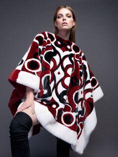 Adv campaign Fall Winter 2017/2018 #adv #campaign #fallwinter1718 #fashion #fur #newcollection #red #classy #luxury #braschifur